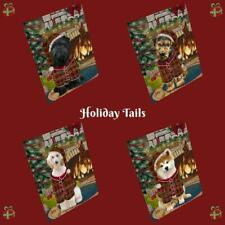 Christmas Stocking Hung Dog Cat Pet Photo Refrigerator Magnet 8.7x11.5 In