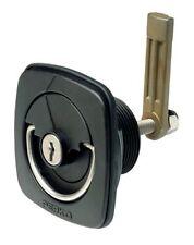 Perko Flush Lock & Latch - Straight Cam Bar, Flexible Plastic Strike