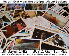 Topps Star Wars The Last Jedi 2017 Movie -{select your}- Album Stickers singles