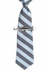 CodeF41 Barbel Fish on a Tie Clip Ties slide Pewter Jewellery Bar Suit
