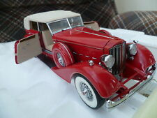 EXTREMELY RARE - Franklin Mint 1:24 1934 Packard Convertible Sedan