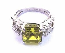 Natural Peridot Fine Rings