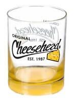 Original Cheesehead Gradient Finish Old Fashion Glass - 12 oz. 3DOF5070