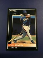 1992 Pinnacle # 395 BOBBY BONILLA Baseball Card New York Mets Nice $$$ Look !