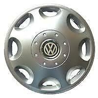"""SET X 4 WHEEL TRIMS HUB CAPS COVERS TO FIT VW GOLF POLO TOURAN BORA 15"""" 300"""