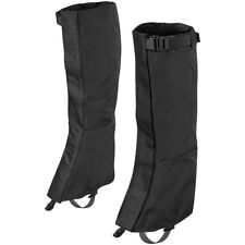 Helikon Snowfall Long Gaiters Hiking Travel Outdoor VersaStretch Draw Cord Black