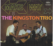 The Kingston Trio MAKE WAY! Vinyl 33 LP Folk Music record Album EX Mono 1961