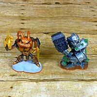 Skylanders Giants Crusher Swarm Lot of 2 Character Figures 2012 Activision