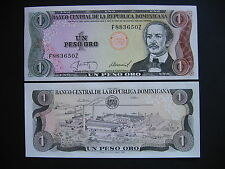 Dominican Republic 1 peso oro 1987 (p126a) UNC