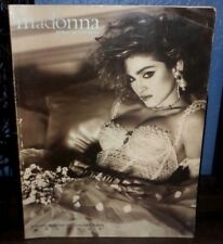 MADONNA LIKE A VIRGIN MUSIC SHEET SONGBOOK MATERIAL GIRL HOLIDAY ANGEL EVERYBODY