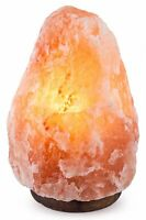 "CRYSTAL DECOR 7""-8"", 6-8 lbs Dimmable Hand Crafted Natural Himalayan Salt Lamp"