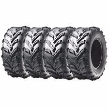 Front &Rear ATV Tires 6 ply 25x8-12 & 25x10-12 For Polaris Ranger Crew Sportsman