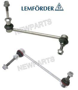 For BMW E70 E71 X5 X6 2x Front Sway Bar End Link f. Adaptive Drive Oem Lemforder
