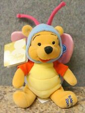 Winnie the Pooh Butterfly Bean Bag Plush 8 Inches New with Tag
