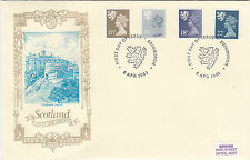 (36378) Gb Escocia philart Deluxe 22p 18p 14p 11,5 P-Edimburgo, 8 de abril de 1981