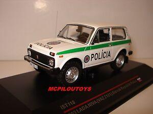 IST 118 LADA NIVA SLOVAK REPUBLIK POLICE 1993 au 1/43°