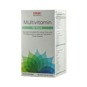 GNC Women's Multivitamin 50 Plus - 120 Count