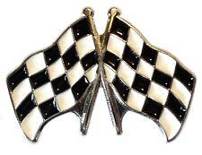 Zielflagge Motorsport Abzeichen für F1 Karting, Speedway, Banger Racing BTCC