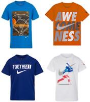 New Nike Little Boy's Dri-FIT Graphic T-Shirt SIZE 4,5,6,7 Pick Size & Color