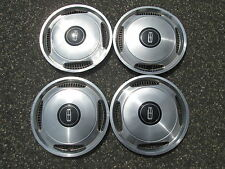 Factory 1982 to 1988 Mercury Ford 14 inch all metal hubcaps wheel covers set