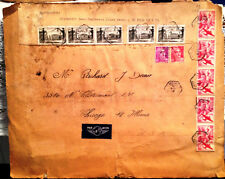Le Pecq France to Chicago 1948 Air Letter c1948