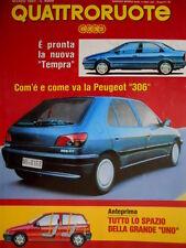 Quattroruote 449 1993 Pronta la nuova Tempra. Jeep Grand Cherokee. Peugeot Q.58]