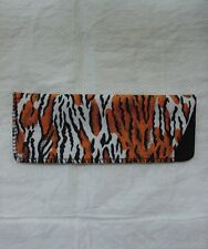 TIGER Animal Print Eyeglass Case Reading Glasses Sunglasses BRAND NEW Soft Pouch