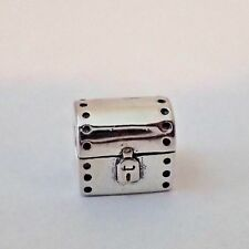 AUTHENTIC  PANDORA CHARM HOPE CHEST, TREASURE CHEST 790425