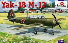 Amodel 1/72 Yakovlev Yak-18 M-12 # 72198