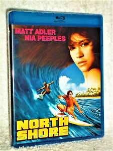 North Shore (Blu-ray, 2020) NEW Matt Adler Gregory Harrison Nia Peeples surfing