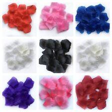 100 - 1000 Rose Petals Artificial Silk Wedding Flower Favor Decor Table Confetti
