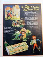 5 Vintage Ads 1927 Wrigleys Gum, Bordens Milk, Muffets, Pabst-ett  Kitchen Chic