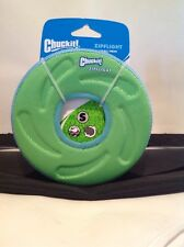 Canine Hardware Chuckit Small Amphious Flying Ring Dog Toy Colors Vary