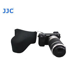 Black camera case For Sony A6300 A6000 A5100 A5000 NEX-3N + 18-55mm Lens or 50mm