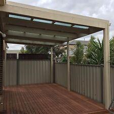 Skillion Roof Pergola/Verandah. Supply and install. Melbourne.