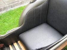 New Handmade Sidecar Seat with New Locks Leather Look Dnepr MT Ural K750 M72 E