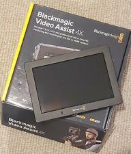 Blackmagic Video Assist 4K monitor