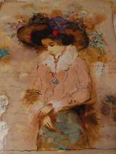 """"""" Lovely Lady """"BY ALEXANDER & WISSOTZKY handsigned Serigraph COA Included"""