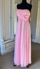 Manon Bridesmaid & Prom Dress, Style M8809, Pink, Size UK 20