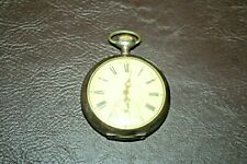"Antique Swiss Tavannes ""Ancre Ligne Droite"" 15 Rubis Working Pocket Watch"