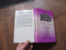 BERTHIER & COLIGNON le francais pratique ecrit et parle solar 1979