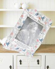 William Morris Photographic Quote Floral Cotton Tea Towel