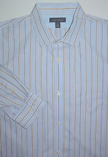 Mens 18 1/2 XXL Tall Banana Republic Shirt LS Non-Iron Classic Fit 2XLT
