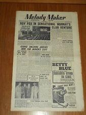 MELODY MAKER 1948 #796 NOV 6 JAZZ SWING GEORGE SHEARING ROY FOX PAUL ADAM BENSON
