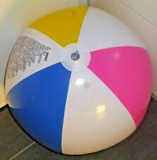 Grosser weiß/bunter WASSERBALL von Intex, 61cm / 24