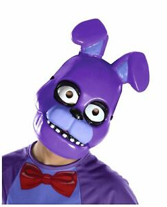 Five Nights At Freddy's Bonnie 1/2 Mask Child PVC Mask FNAF Horror Game Cosplay
