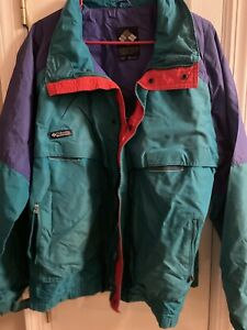 Columbia Criterion Vintage 90's Winter Ski Jacket Sz XL Radial Sleeve