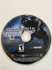 BLACKSITE Area 51 SONY PS3 PlayStation 3 Video Game Disc Only TESTED Clean