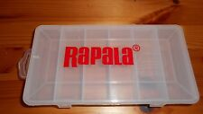 Rapala Logo Plano 3450 Size Fishing Tackle Box - Perfect for Ice Jigs Too - NEW!