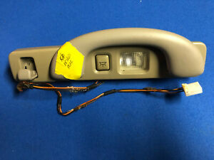 LINCOLN LS LH DRIVERS SIDE REAR GRAB HANDLE WITH LIGHT,TAN